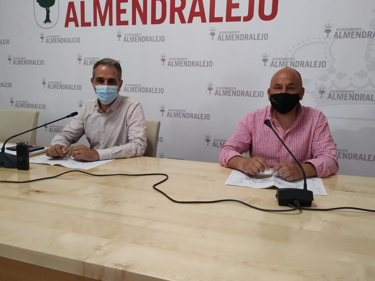Presentan el plan de tráfico previsto durante las obras de la plaza de Extremadura