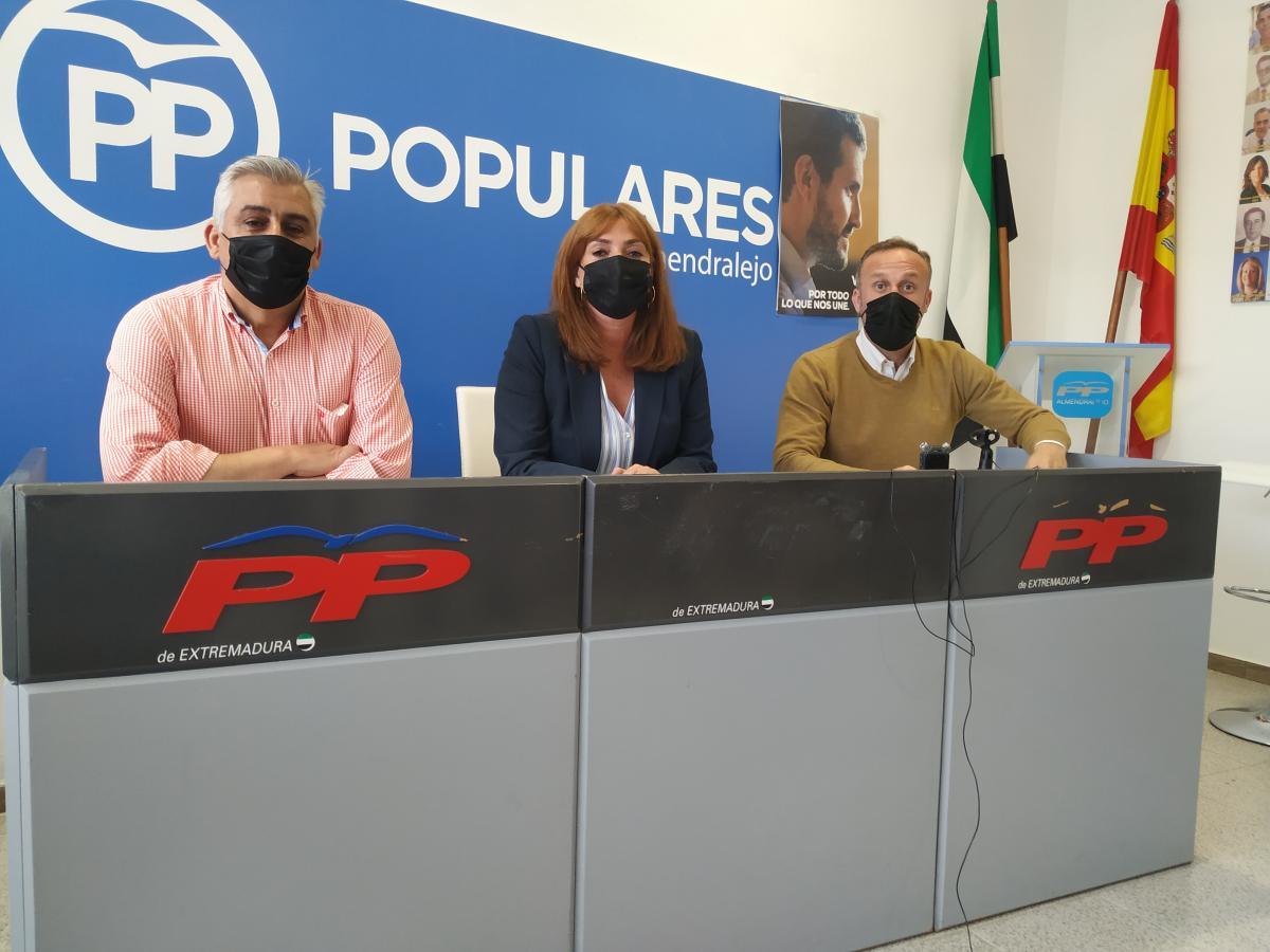 """El PP afirma que el gobierno local """"no quiere escuchar"""" a los padres del Ortega"""