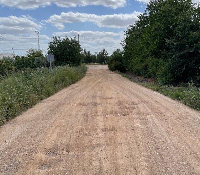 El PP denuncia el estado de los caminos y exige su arreglo
