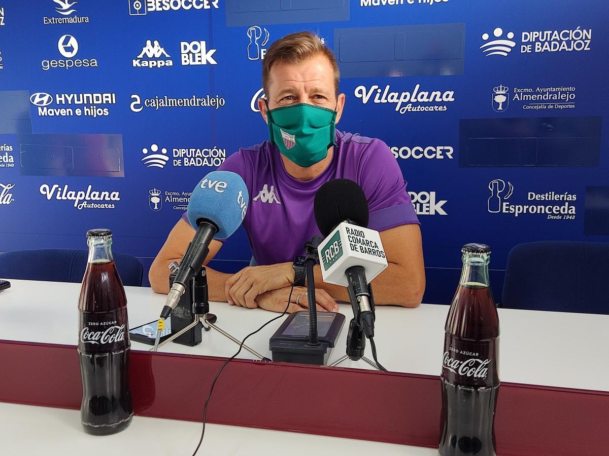 """Manuel Mosquera destaca que el club trabaja """"para buscar estabilidad"""""""