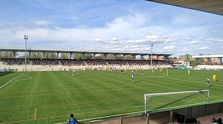 El Extremadura cae frente a los Unionistas con tres goles en contra