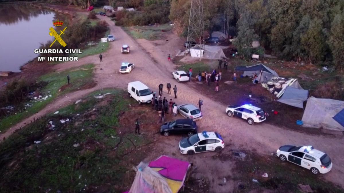 Detienen a un grupo criminal por robos en explotaciones agrícolas de Tierra de Barros
