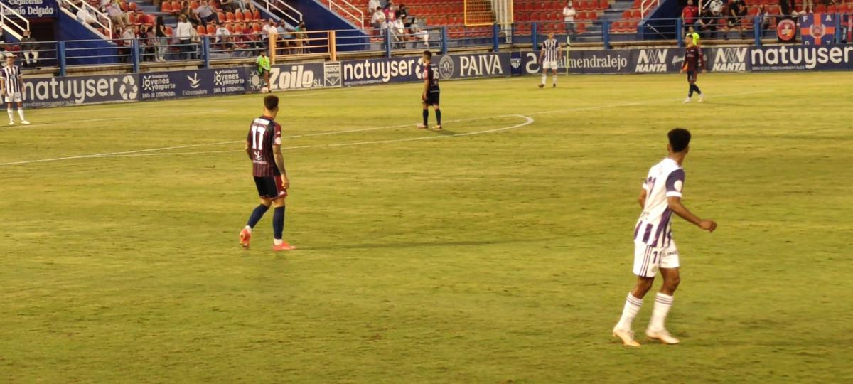 El Extremadura se lleva la victoria en el encuentro ante el Valladolid B
